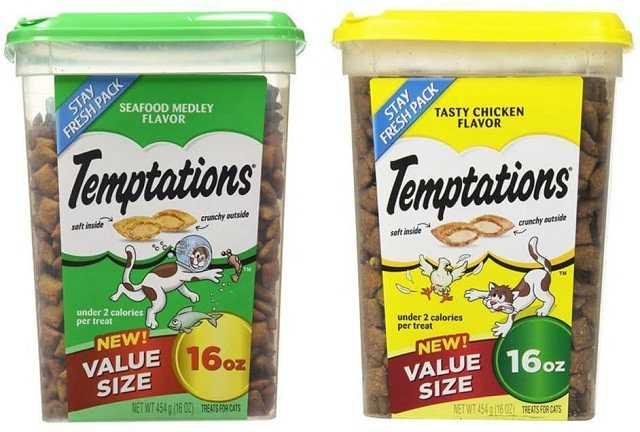 Temp-Tations tentazioni classici per gatti: