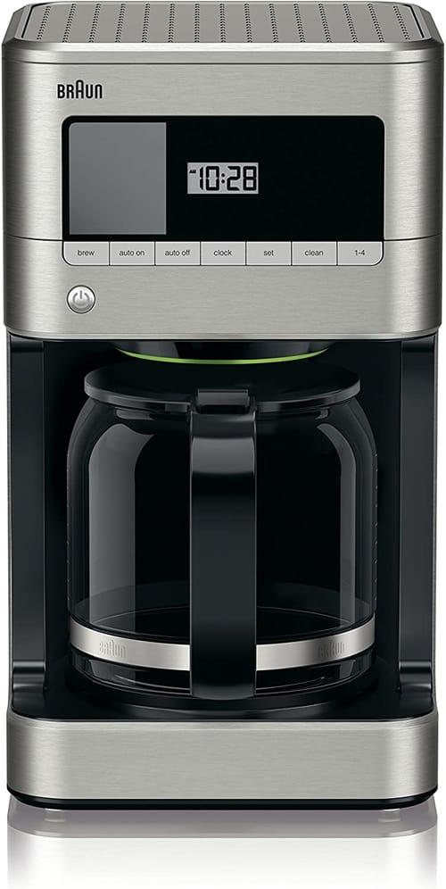 Braun KF7070 BrewSense Drip Glass Coffeemaker