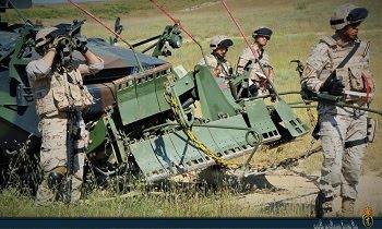La Compañía de Zapadores del Tercio Armada se adiestra en la lucha contra artefactos explosivos improvisados