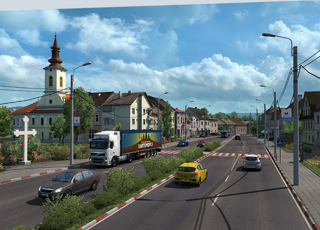 تحميل لعبة Euro Truck Simulator 2 للكمبيوتر مجانا