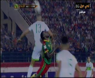 اهداف مقابلة الجزائر والكاميرون 9-10-2016 | تصفيات كأس العالم 2018