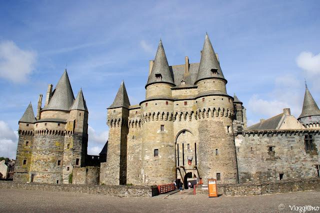 Il bellissimo castello di Vitré