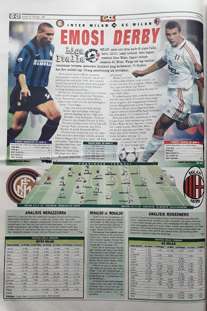 RONALDO OF INTER MILAN VS SHEVCHENKO OF AC MILAN