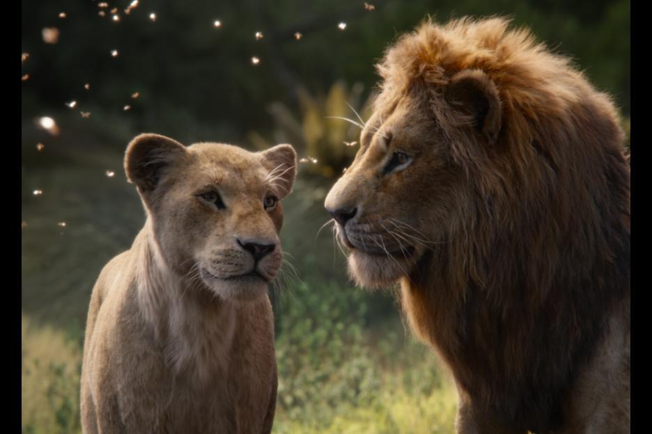 Simba and nana the lion king