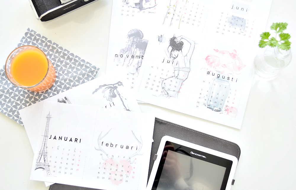 kalendarz na rok 2015