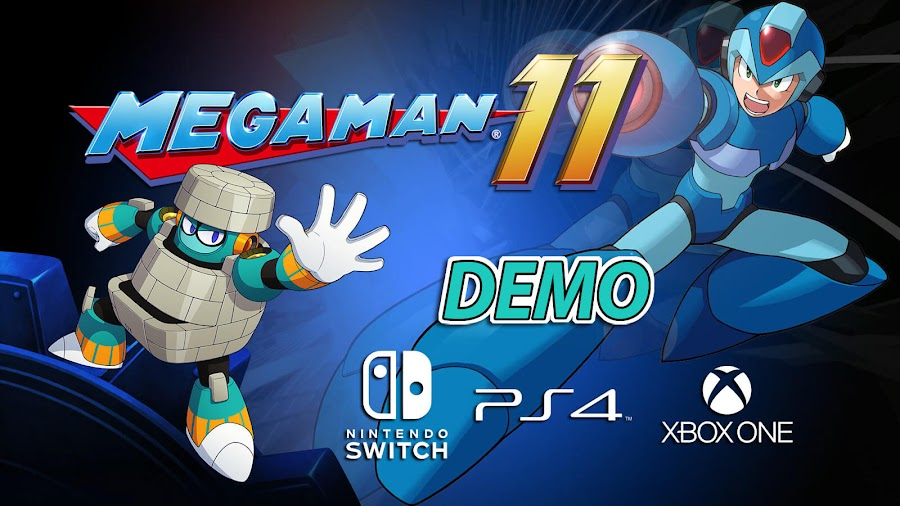 mega man 11 demo switch ps4 xbox one