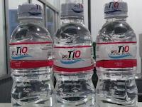 Pro Tio, Air Minum Kemasan dari 'Mual' Ada aksara bataknya