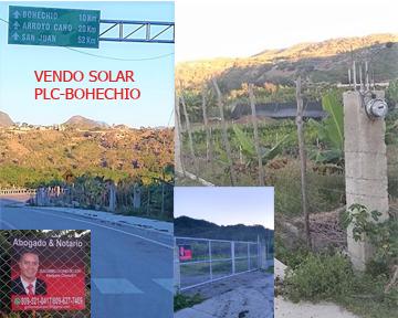Se vende solar 2,500 MTS2 Padre Las Casas-Bohechío