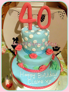 40th birthday cake