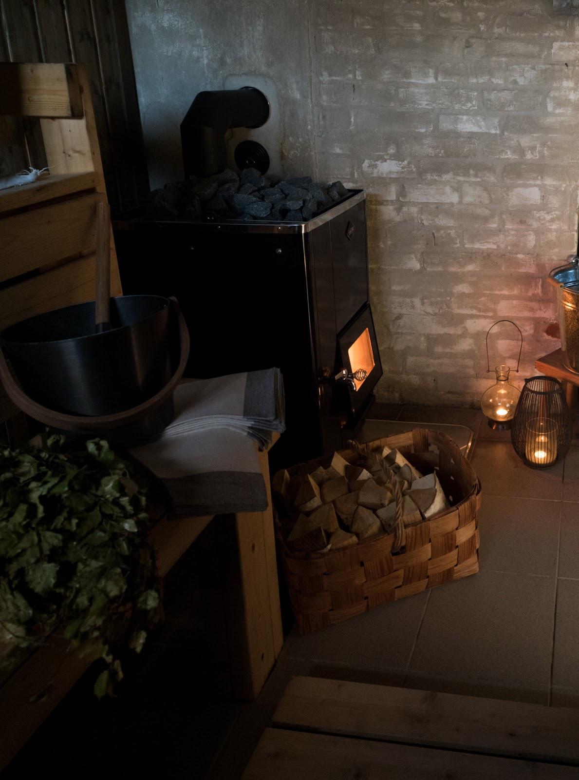 sauna kiuas puulämmitteinen