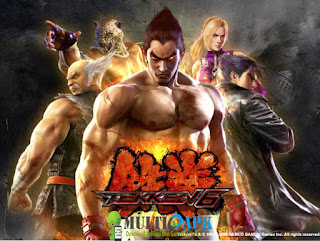 Game Tekken 6 ISO CSO PSP For Android