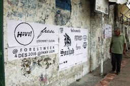 Belum Lama Dibersihkan, Sampah Visual Muncul Lagi
