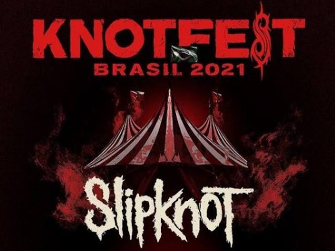 Slipknot anuncia o KNOTFEST no Brasil; primeiro lote de ingressos já se esgotou