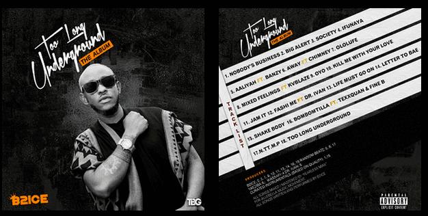 Download: B2ice 'Too Long Underground' Album