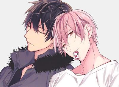 Kurose y Shirotani, protagonistas de Ten Count