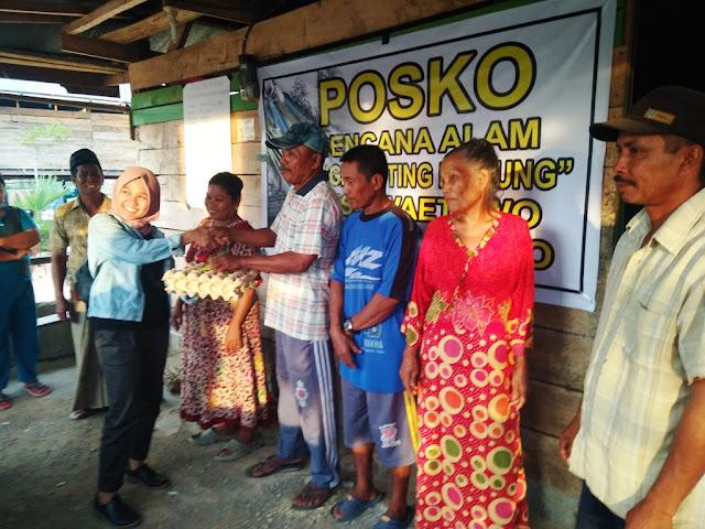 Yoanna Salurkan Bantuan Anugrah Untuk Korban Bencana Angin Puting Beliung
