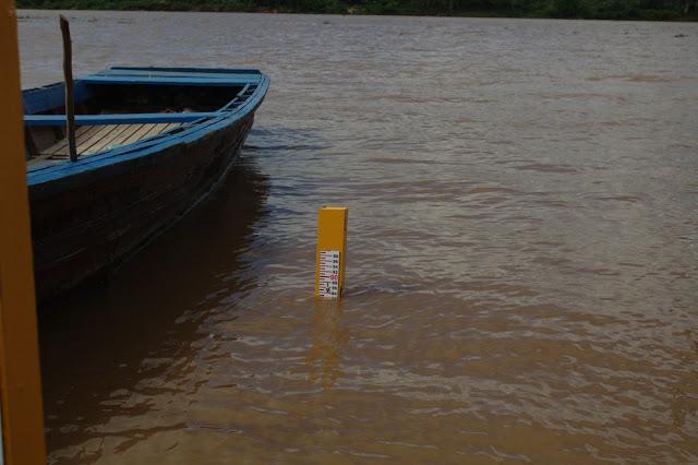 Rio Mamoré chega a 8,82 metros em RO; marca é a maior registrada desde 2013
