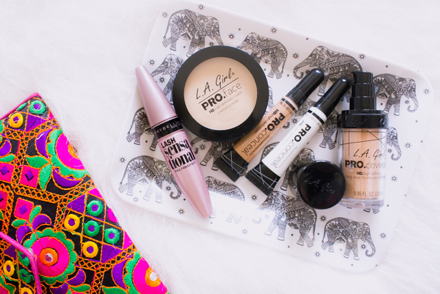 LA Girl Pro HD Face Matte Powder, Pro Conceal HD and Pro Coverage Foundation Review