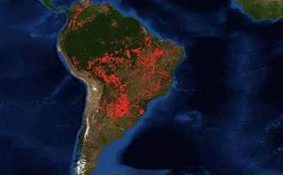 amazonas ardiendo
