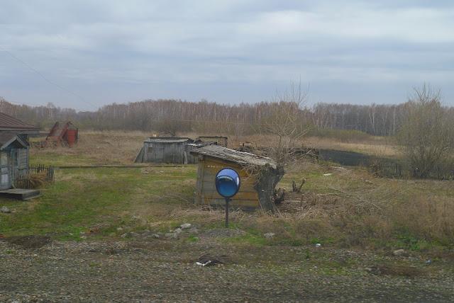 Сибирь (Барабинская низменность) в апреле