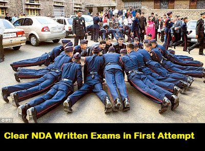 Clear NDA Written Exams in first attempt