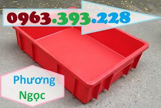 Khay nhựa đặc B9, thùng nhựa đặc B9, thùng nhựa chứa đồ linh kiện,sóng nhựa bít B9TND