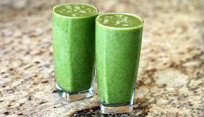 jus hijau untuk kadar gula darah normal