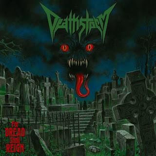 """Ο δίσκος των Deathstorm """"For Dread Shall Reign"""""""