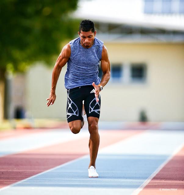 Wayde van Niekerk Richard Mille 27-02 corriendo