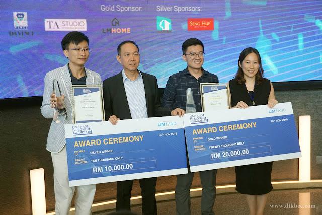 Pemenang Pereka Dalaman Terbaik Di Anugerah Pereka IJM Land 2019
