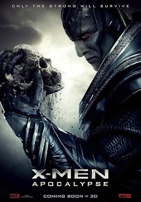Poster Of Free Download X-Men Apocalypse 2016 300MB Full Movie Hindi Dubbed 720P Bluray HD HEVC Small Size Pc Movie Only At worldfree4u.com