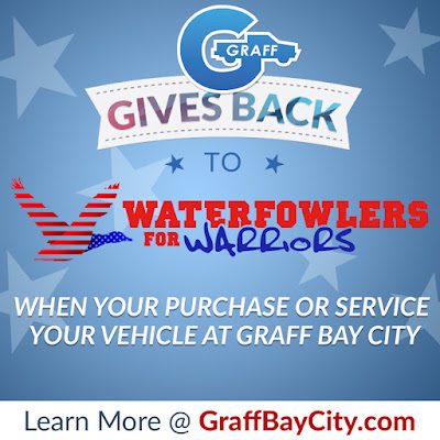 Graff Gives Back to Waterfowlers For Warriors