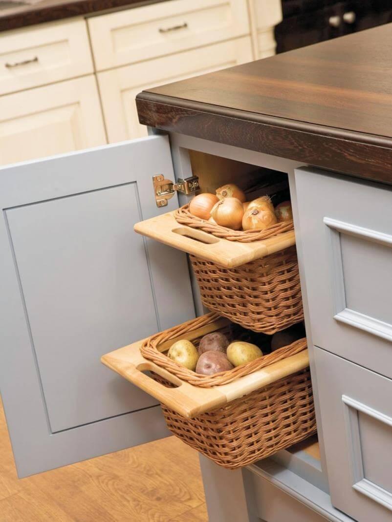 Fresh Ideas to Organize Kitchen Storage - Smart Kitchen Storage ...