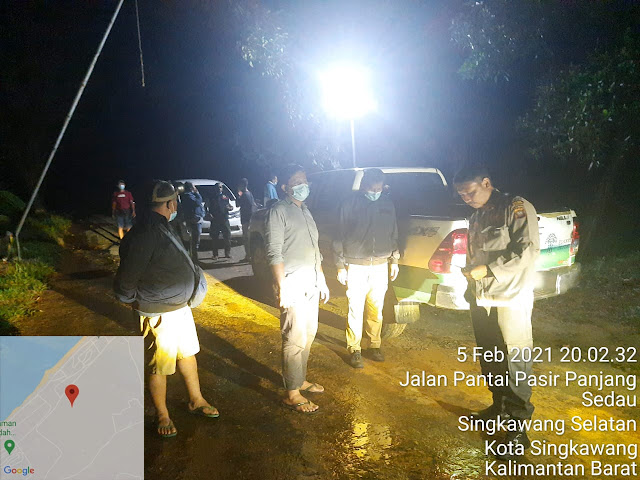 Ulasan lengkap penangkapan Eka dan Tora di sekitar wilayah Sinka Zoo Singkawang