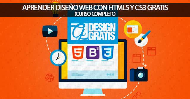 CURSO: Aprende diseño web con HTML5 Y CSS3 desde cero