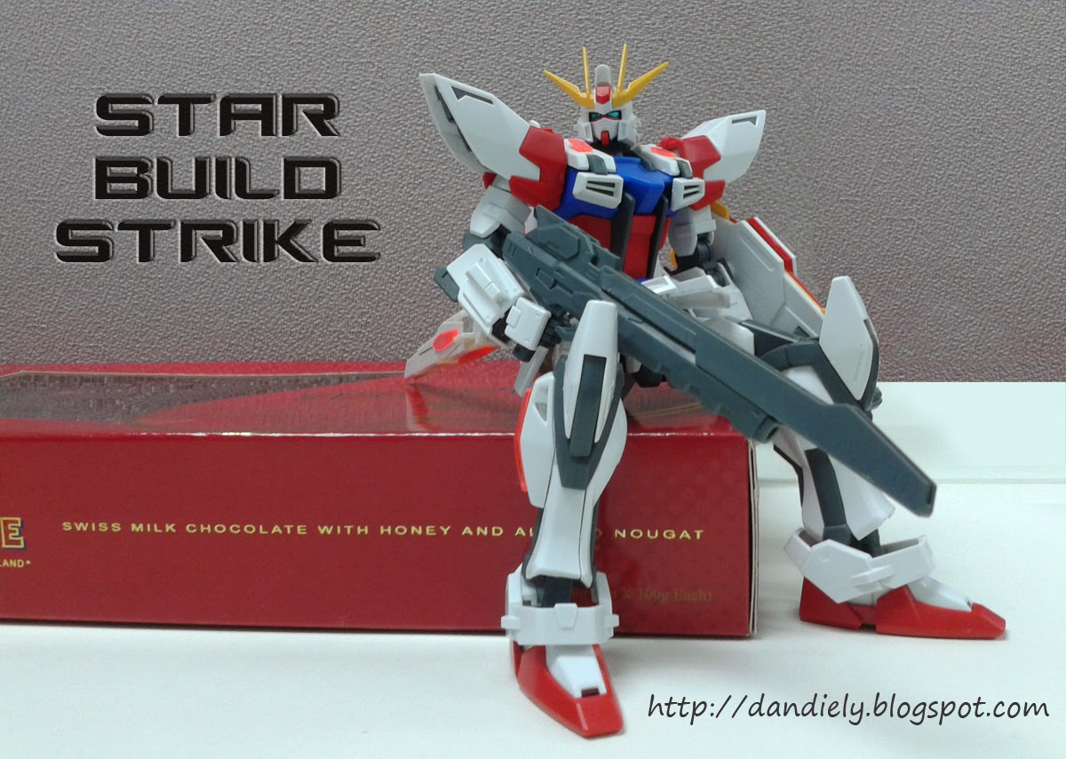 Star Build Strike Sitting on a Toblerone Chocolate Box