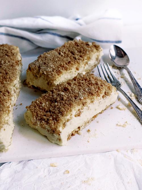 cheesecake de migas sin horno, una opción suave y cremosa