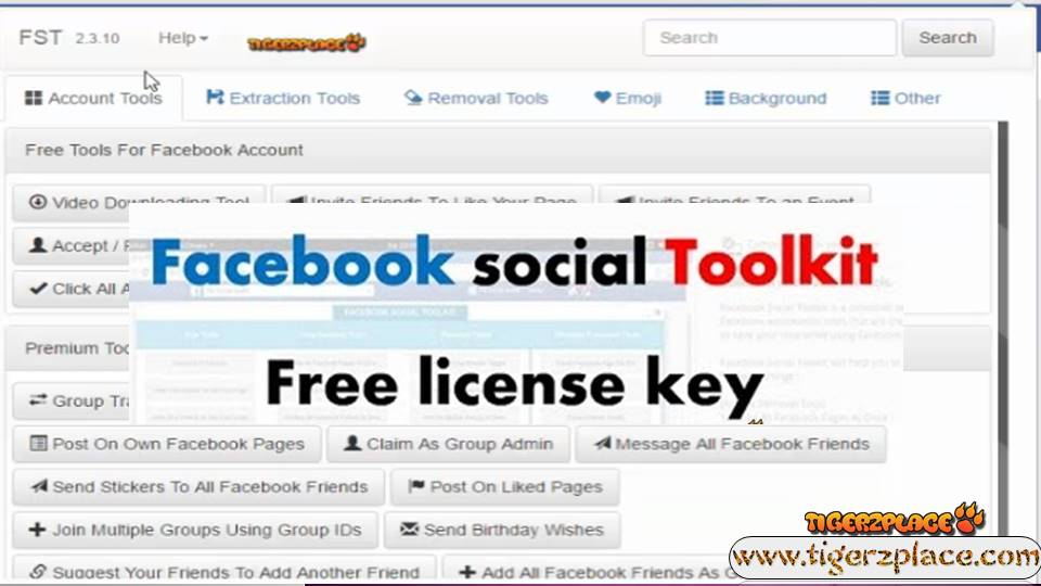 Toolkit For Facebook License Key 2019 (FST 3 14 Version Updates