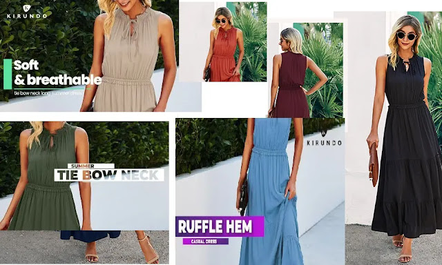 KIRUNDO Summer Womens Sleeveless Apricot