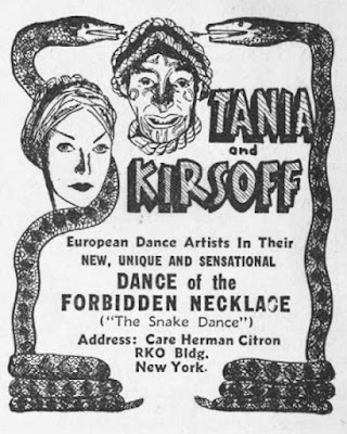 Tania and Kirsoff