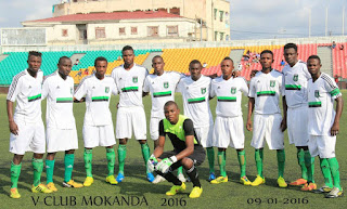 V-Club vs. Akwa United du Nigeria, Coupe CAF