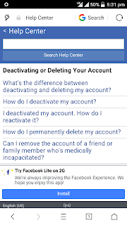 How do i delete my facebook lite account the stickers all hindi gyan facebook account permanently delete karne ki trick ccuart Image collections