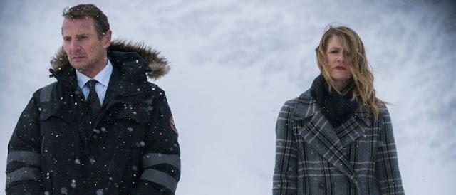 Liam Neson y Laura Dern
