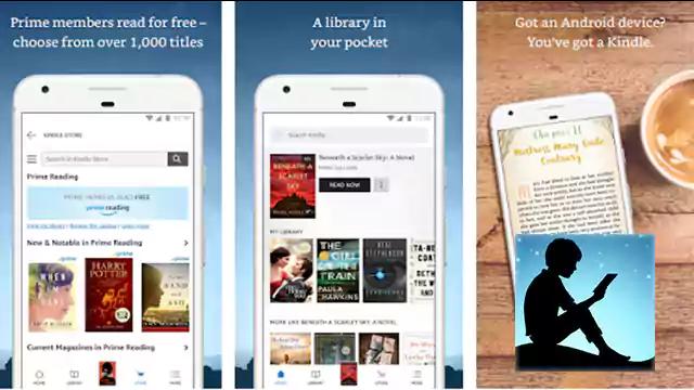 تحميل تطبيق اندرويد Kindle قراءة الكتب