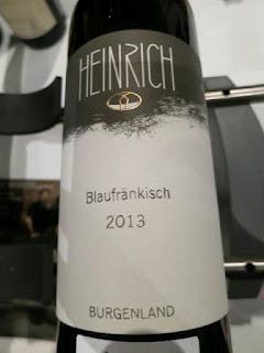Heinrich Blaufränkisch 2013 - DAC Burgenland, Austria (90 pts)
