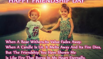 All Latest Happy Friendship Day Shayari And Friendship Day Shayari In Hindi/English Language