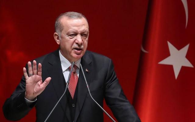 Ερντογάν για Συρία: «Μπορεί να χτυπήσουμε ξαφνικά μια νύχτα»