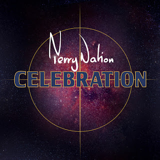 Terry Nation signature with Celebration written over crosshairs