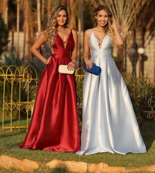 vestido  estilo princesa vermelho azul serenity