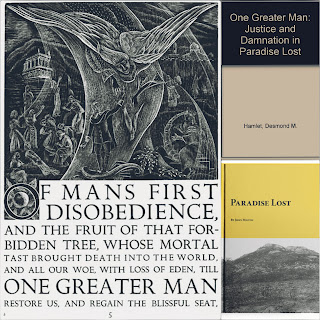 """In book 1 of Paradise Lost the term """"one greater man"""" refers to the """"son of god"""" Lord Jesus Christ who by his sacrifice made it possible for the humanity to regain Paradise."""